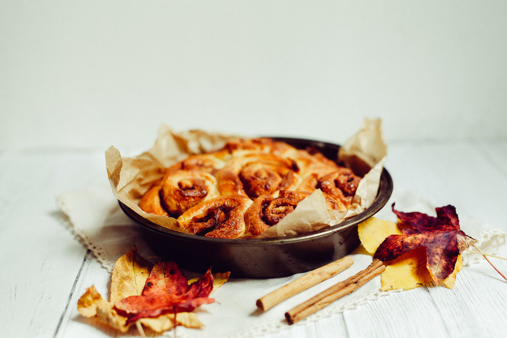 Cinnamon Rolls for Syrup Magazine