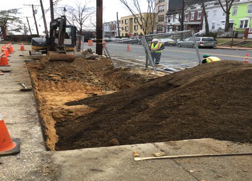 Soil Sand Structure Excavation House #829 - #833