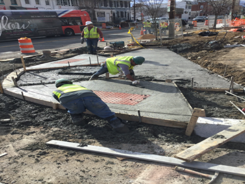 Ramp Pour at #701 Kennedy ST