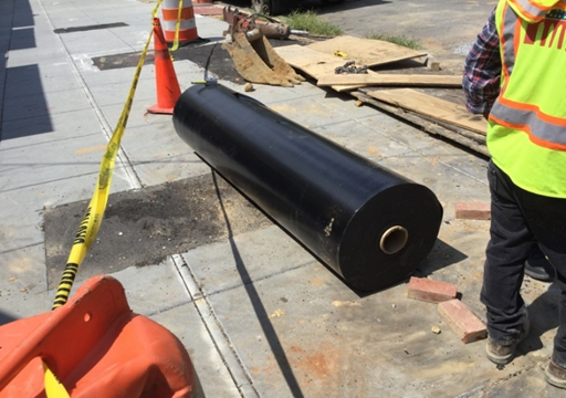 Waterproof Membrane for Storm Water Management