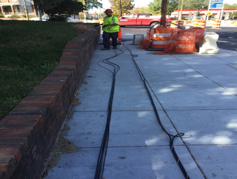 Conductor Line Installation