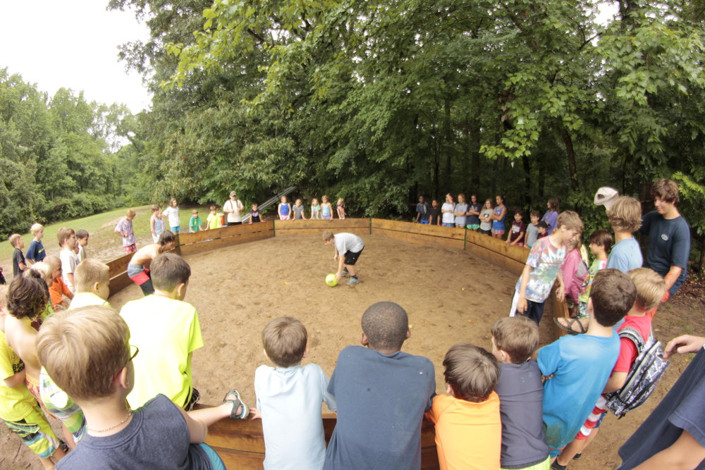 Gaga Ball, Tetherball and Playing Fields