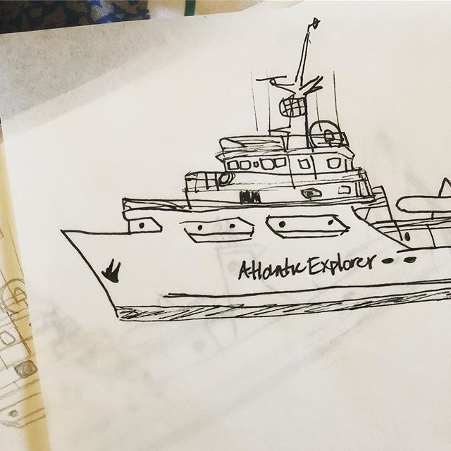 Brainstorming some things... #rvatlanticexplorer