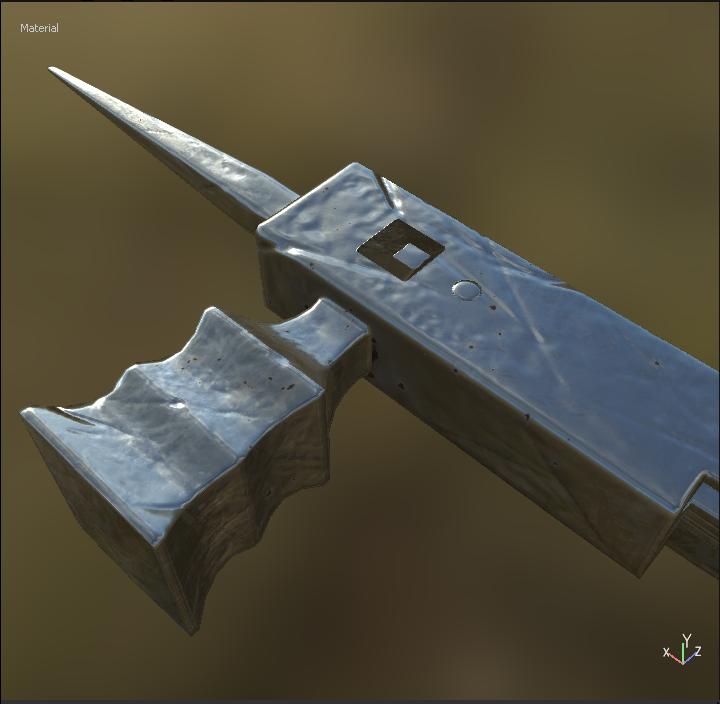 Initial texture progress
