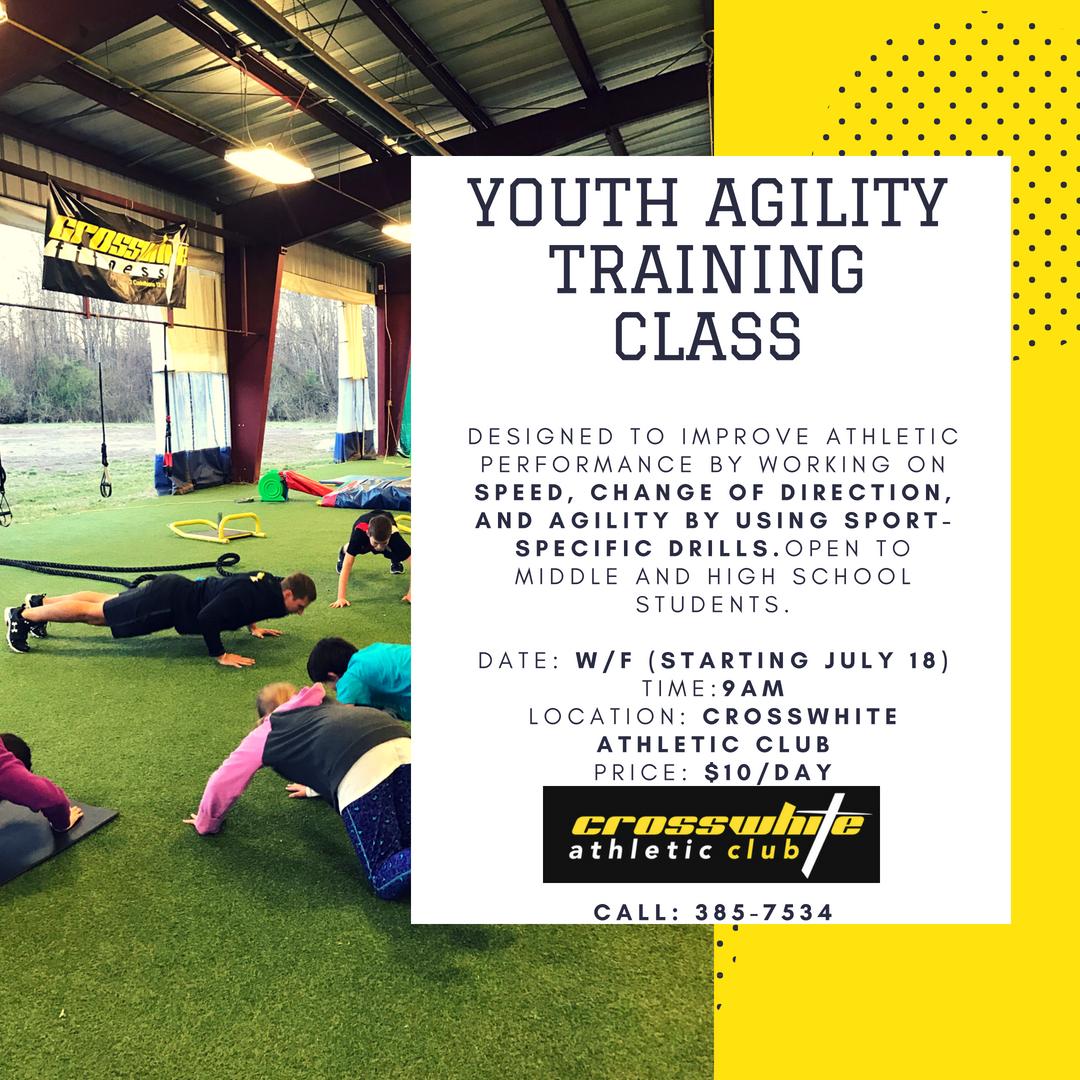 Youth Agility Training Class — Crosswhite Athletic Club