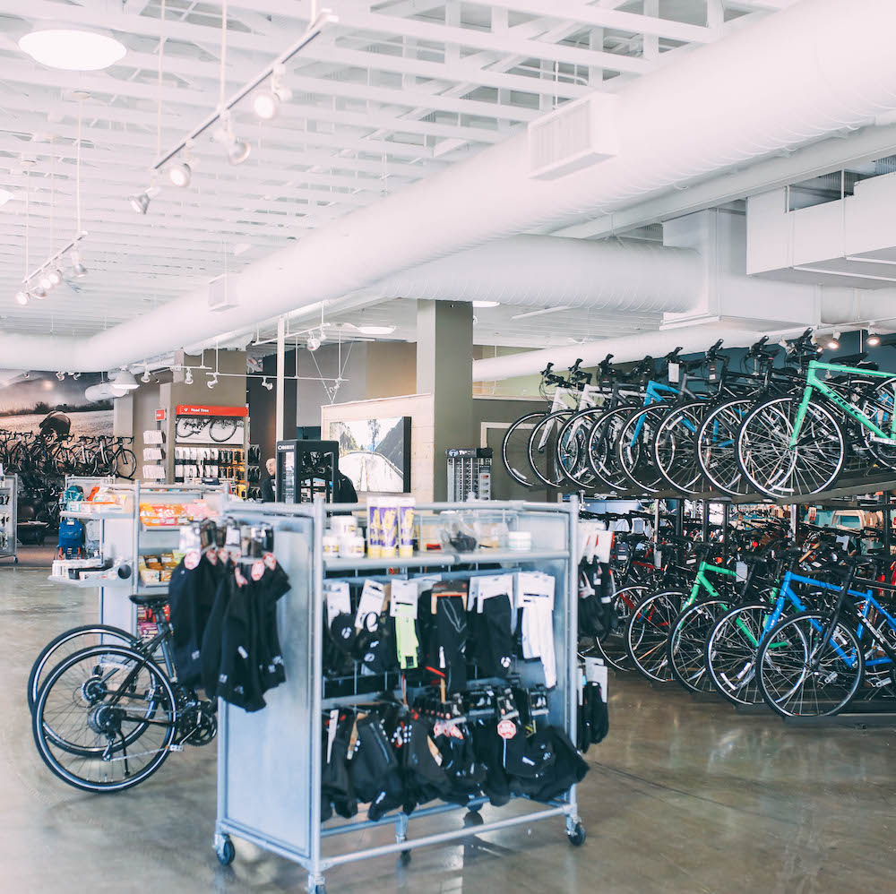 TREK BICYCLE RETAIL ENVIRONMENT