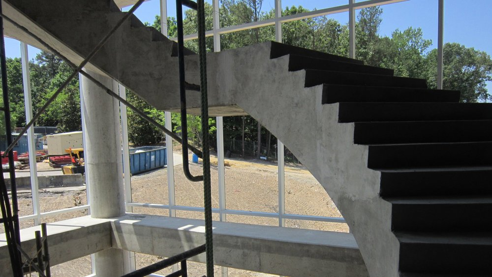 Detail of stairs.