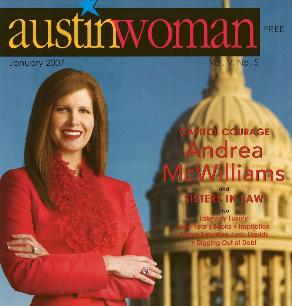 Capitol Courage- Austin Woman
