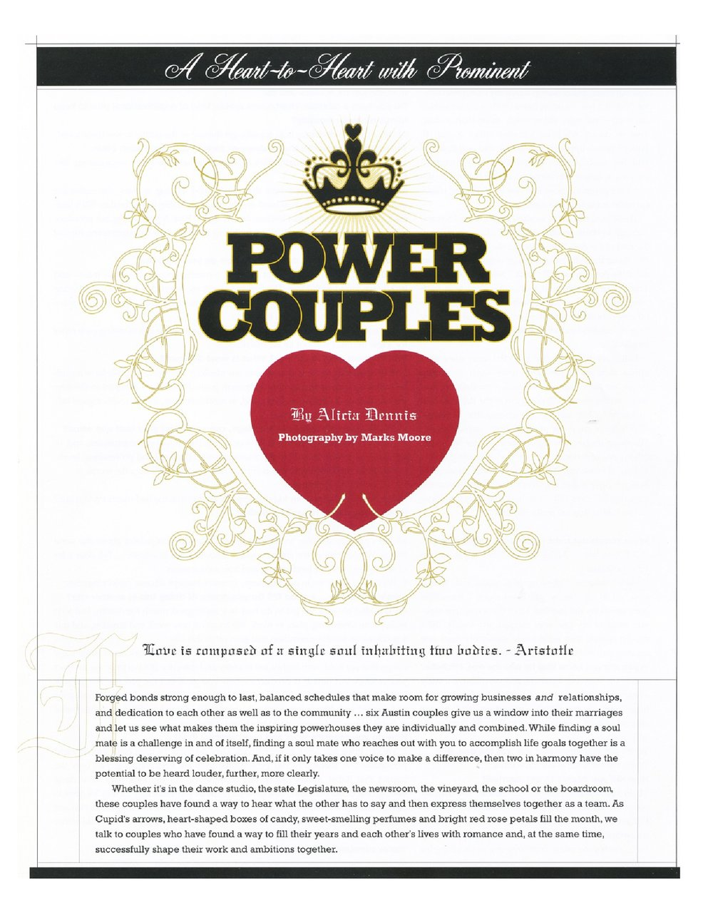 Power Couples - Austin Monthly