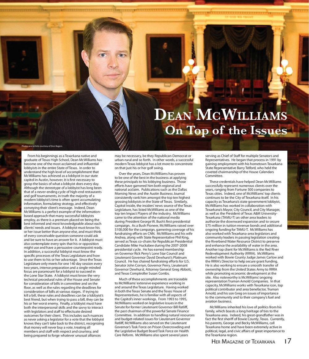 Dean McWilliams