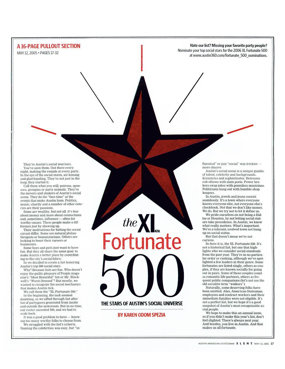 XL's Fortunate 500