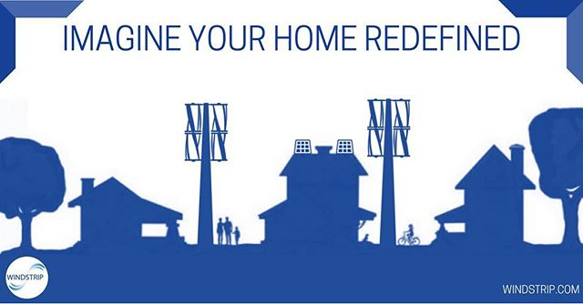 Imagine the impact of using Windstrip's Hybrid Power System to power your home or neighborhood. Not only would this reduce our environmental footprint, it would also allow you to save a significant amount of money on energy expenses. Visit our website's technology tab to take a look at our rapid customer payback model!