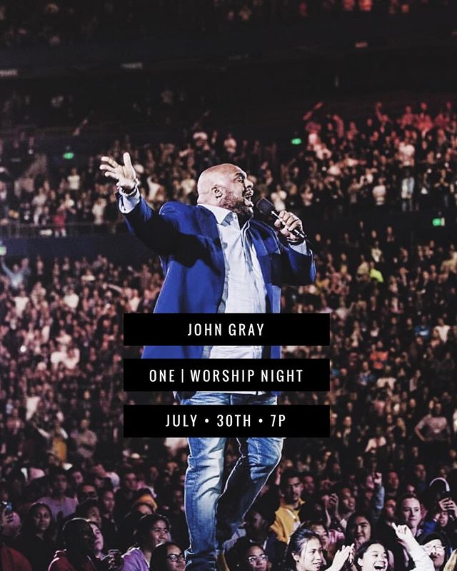 @realjohngray is coming to Fort Worth! See you there! #oneworship ————— free event | register with link in bio