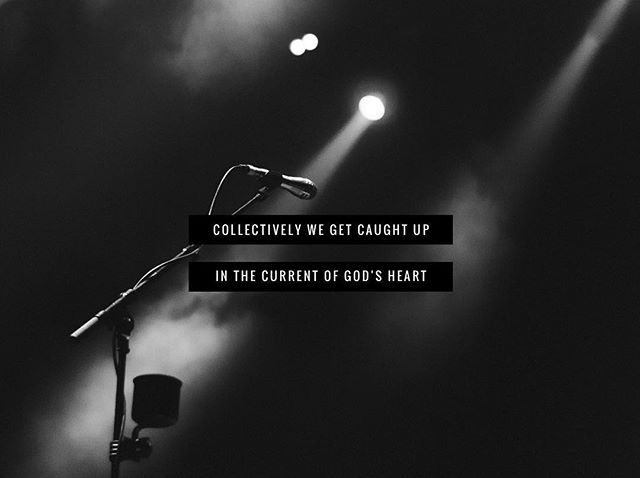"""""""Leading worship is electric. It's an opportunity to step outside of yourself and invite heaven to invade earth and then just watch, as collectively we get caught up in the current of God's heart."""" @daramaclean #oneworship"""
