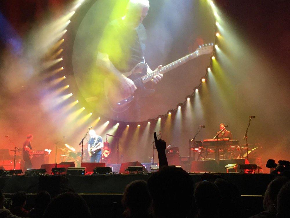 David Gilmour @ MSG 4/12/16