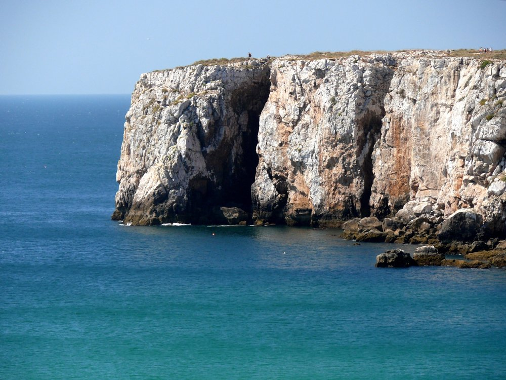 Sagres. The last bit of earth that Vasco da Gama's men saw, setting off for the New World. A place for courage and leaps of faith.