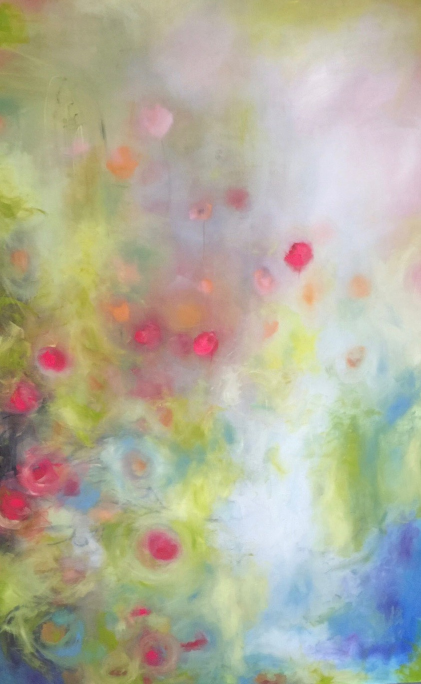 Summer daydream- Oil on canvas-72x48-SOLD