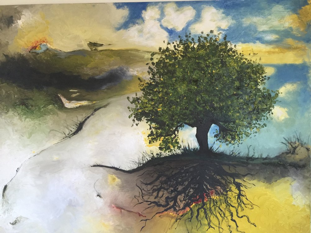 Tree of Life- Oil on canvas-SOLD
