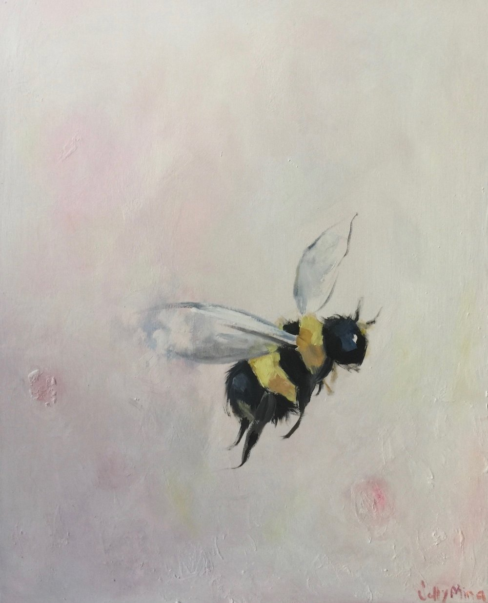 Apis- Oil on canvas- 24x30 - SOLD