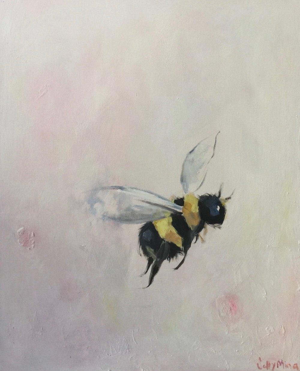 Apis- Oil on canvas- 24x30- $1000