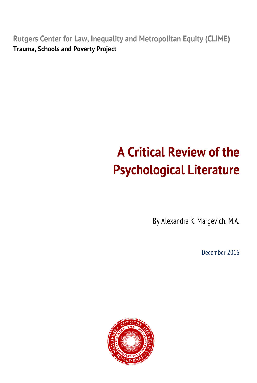 - CLICK HERE FOR A COMPREHENSIVE LITERATURE REVIEW