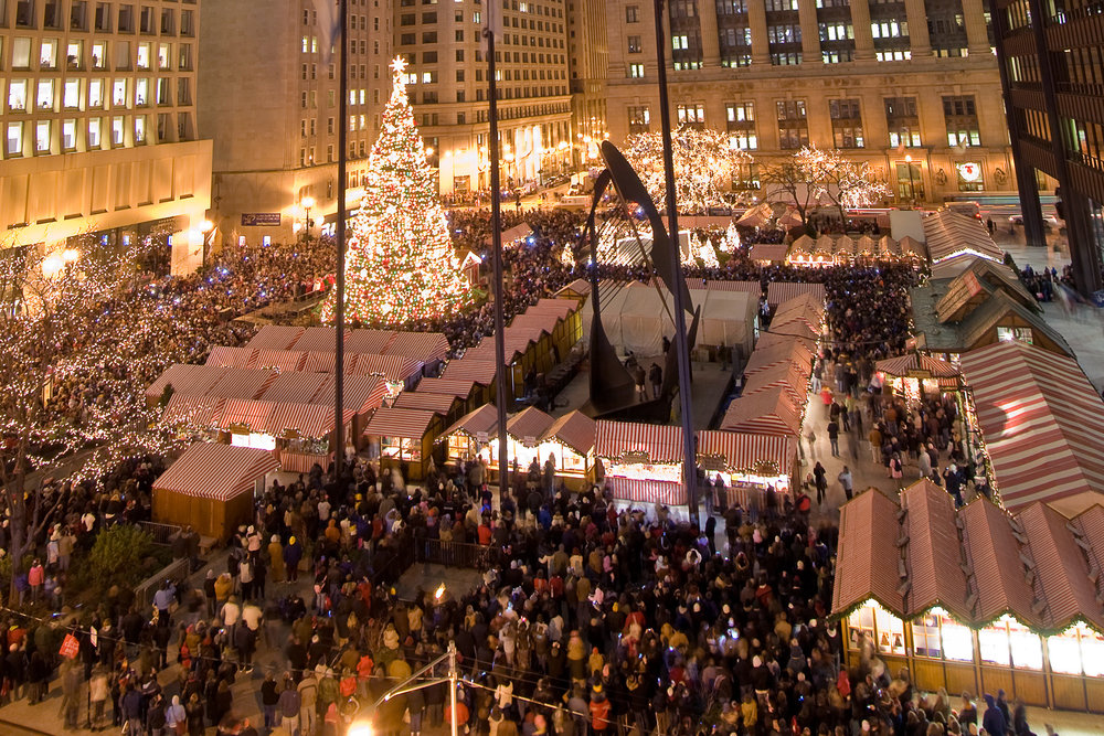 Daley Plaza - November 17th - December 24thVia Subway:Blue Line: Washington/Dearborn Red Line: State/Lake