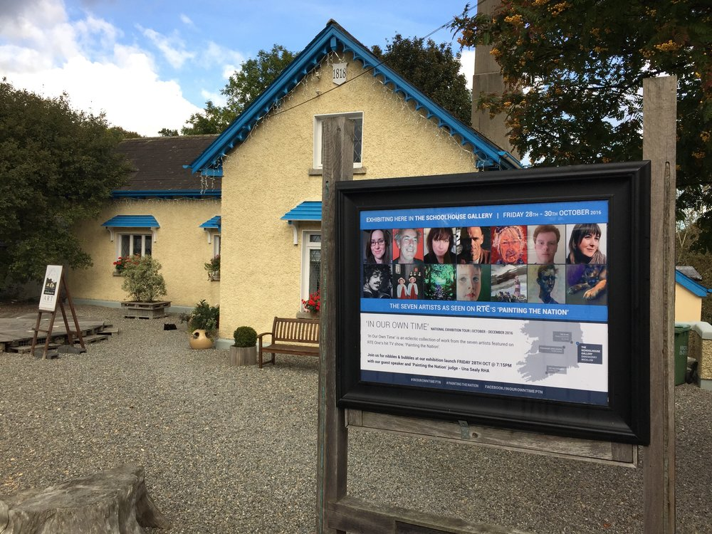 Featured at Schoolhouse for Art, Enniskerry