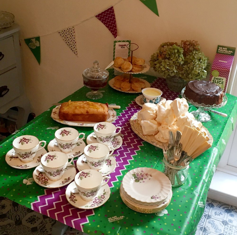 My Macmillan Coffee Morning