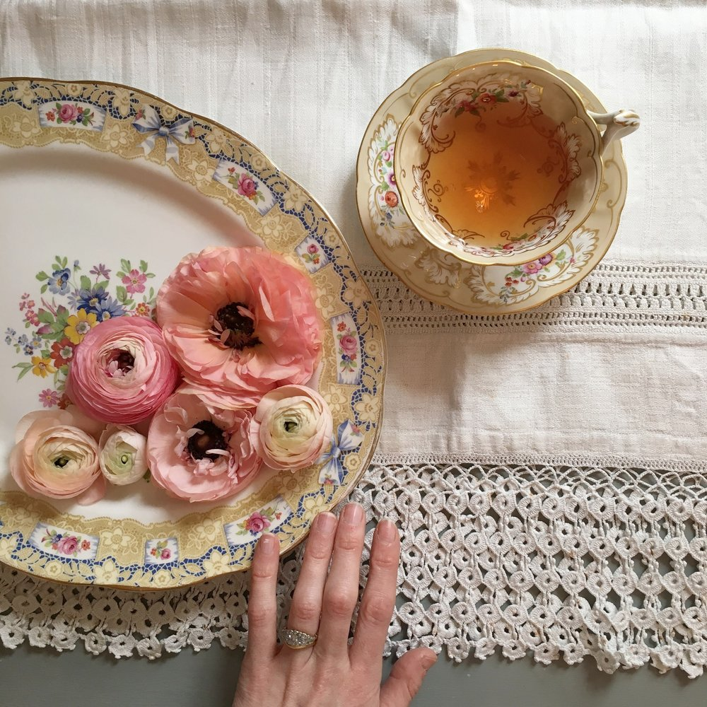 Vintage Amy Wedding Styling-Vintage Tea Cups to Hire-Romantic Vintage Wedding