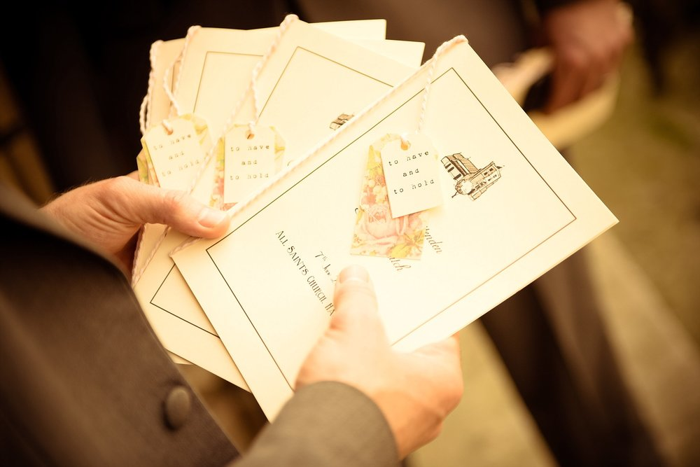 Vintage Amy Wedding Styling-My Vintage Wedding-Vintage DIY Order of Service