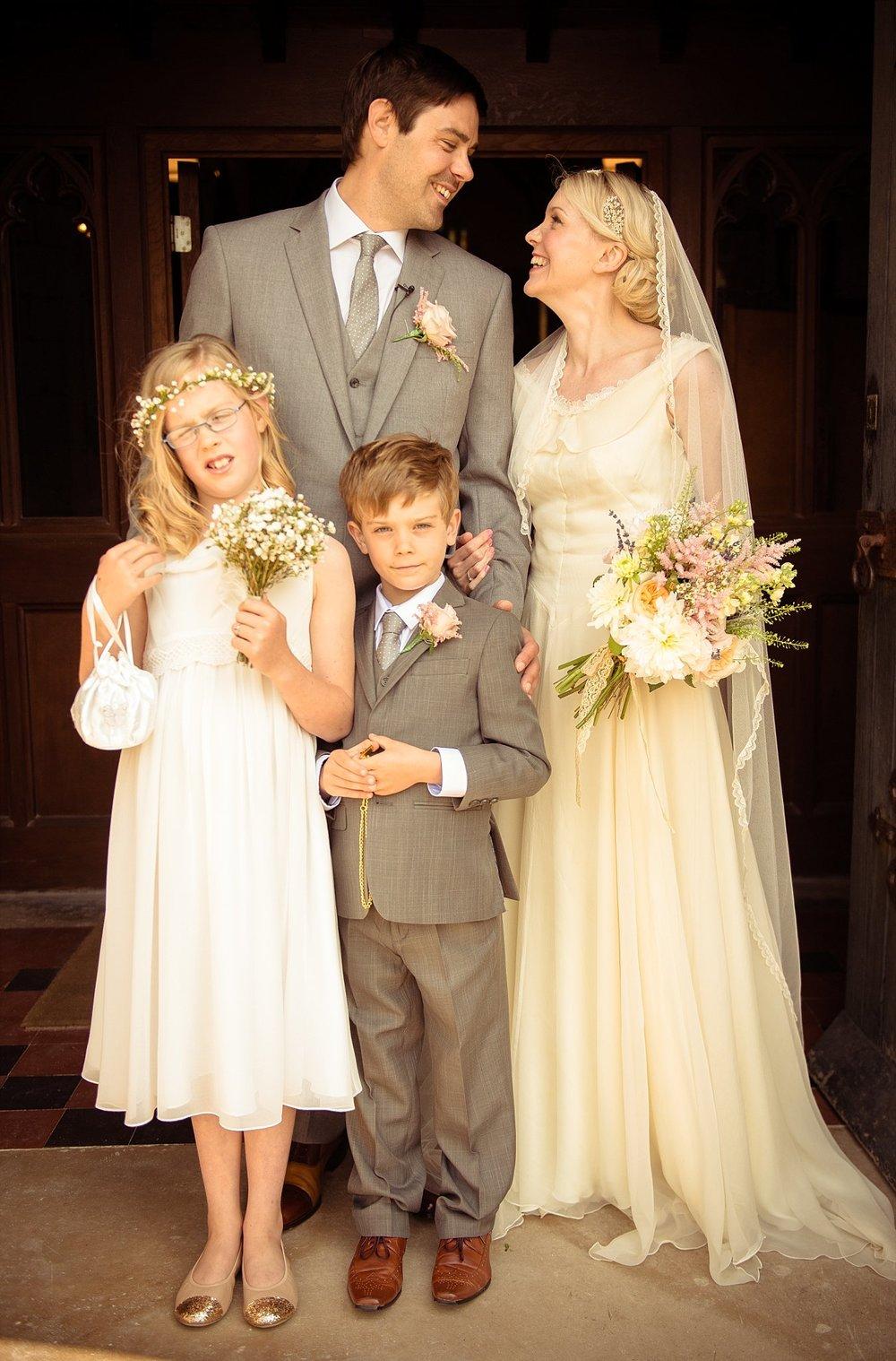 Vintage Amy Wedding Styling-My Vintage Wedding-1930s Wedding Dress and Vintage Flowers