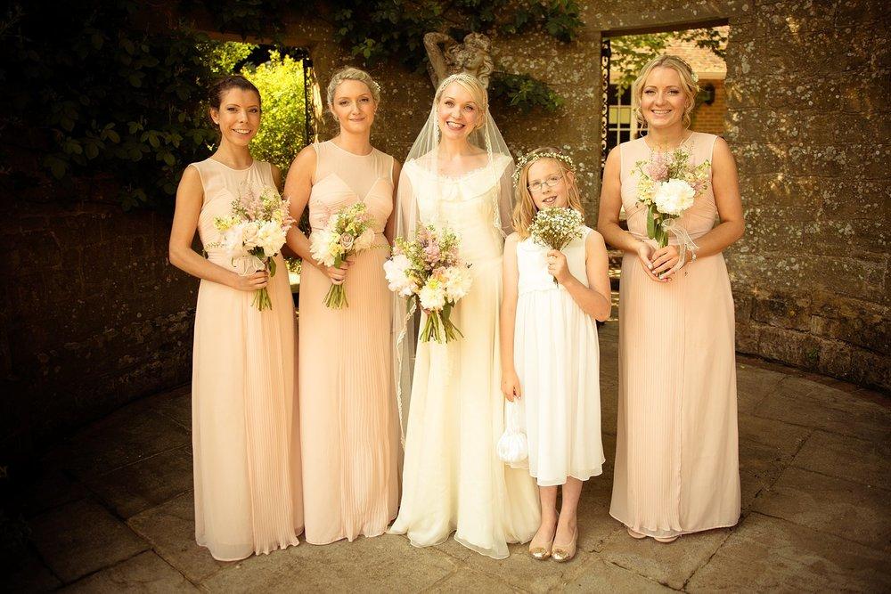 Vintage Amy Wedding Styling-My Vintage Wedding-Blush Vintage Bridesmaids and 1930s Wedding Dress