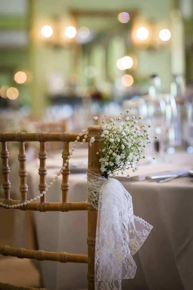 Vintage Amy Wedding Styling-Selina and Daves Romantic Wedding-Tunbridge Wells Kent-Vintage Lace Chair Posies