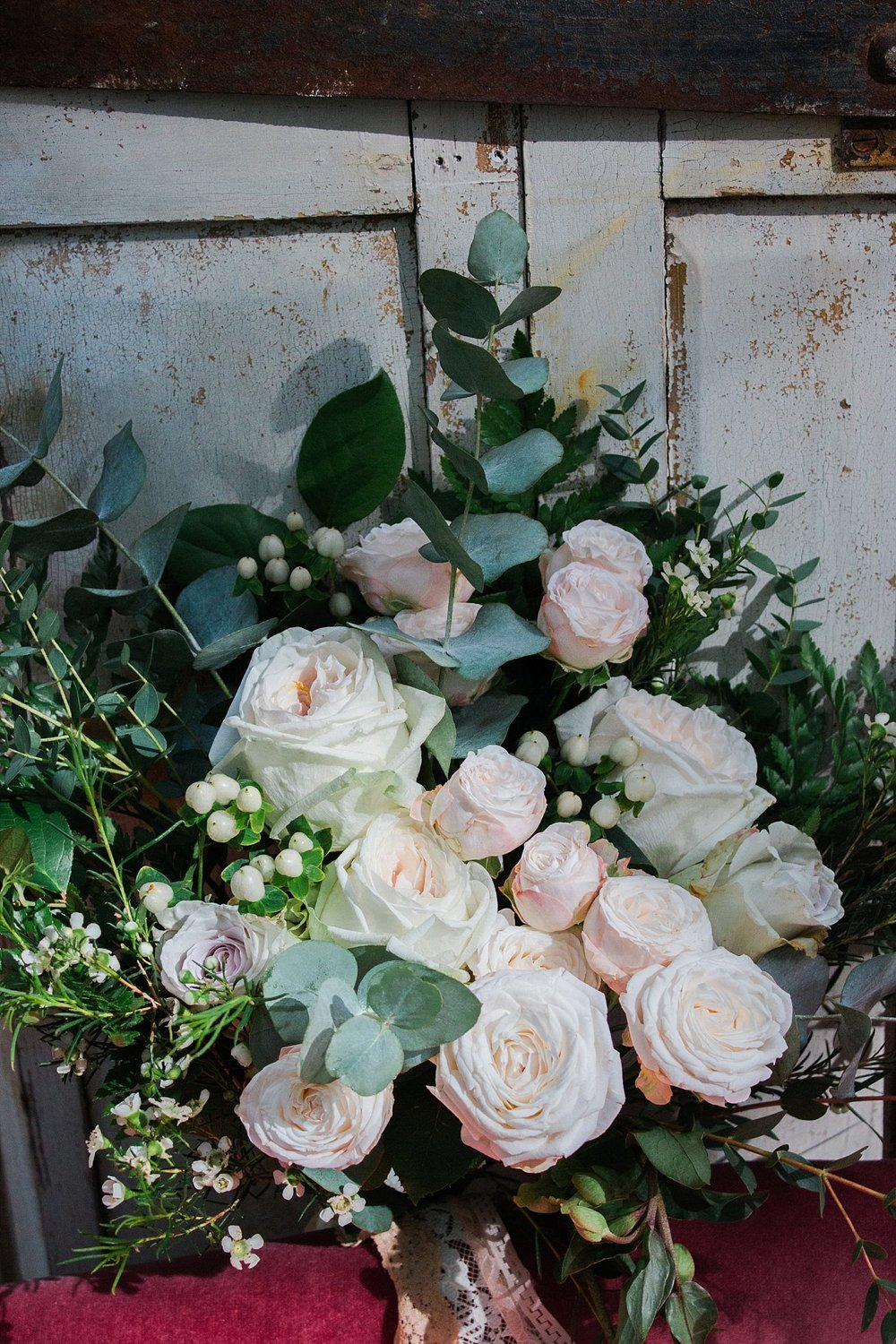 Vintage Amy Wedding Styling-Whimsical Woodland Wedding Inspiration Kent-Neutral Bouquet Vintage Wedding