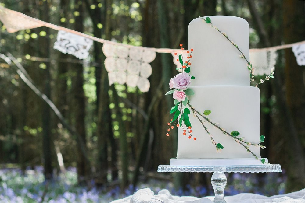 Vintage Amy Wedding Styling-Whimsical Woodland Wedding Kent-Vintage Lace Bunting To Hire Kent