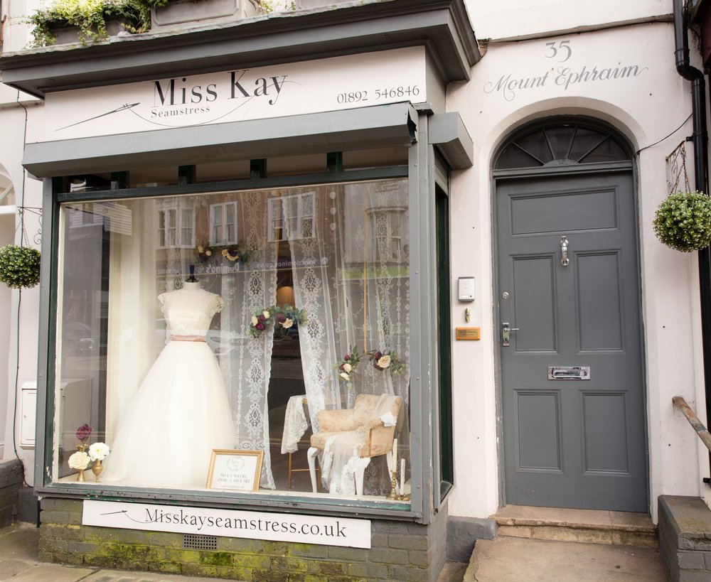 Vintage Amy-Vintage Weddings-Window Styling Kent