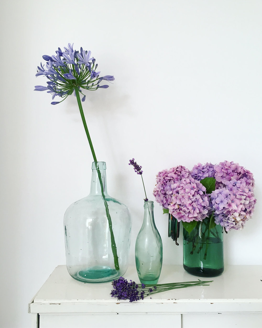 Vintage Amy Styling-Styling Tips Blog-Vintage Green Glass-Prop Hire Kent