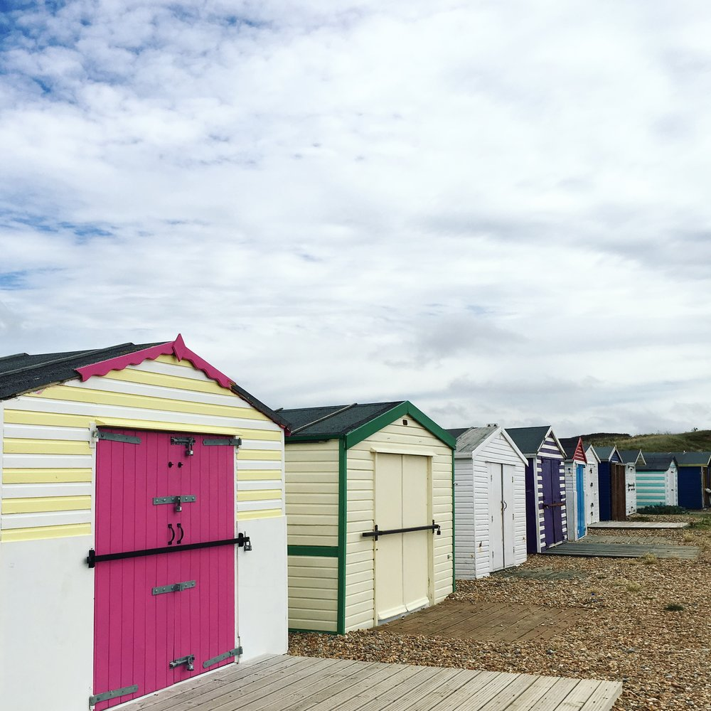 I love the colours on these beach huts in Bexhill, all standing prettily. You can't beat a beach hut shot! Being on the beach is my favourite place for relaxing and getting away from the fast pace of everyday life.