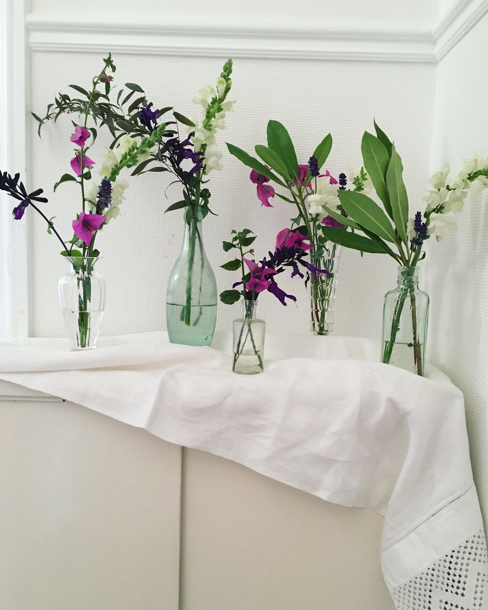 Vintage Amy Blog-Styling Tips-Vintage Medicine Bottles and Vases to Hire