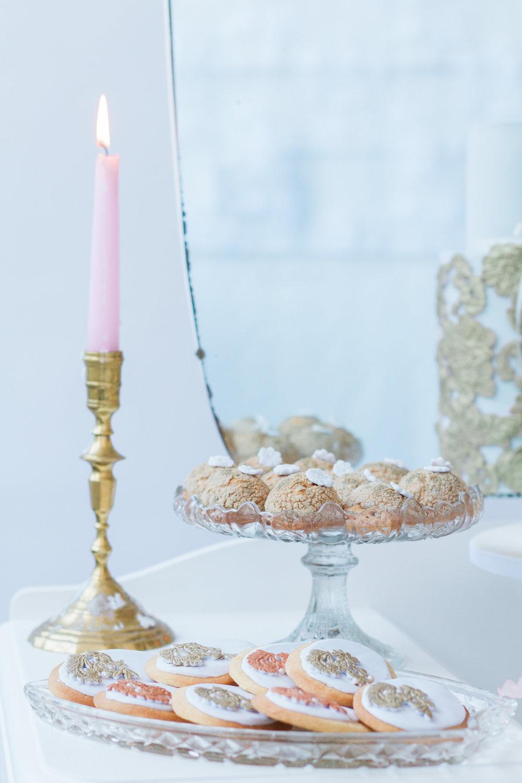 Vintage Amy Wedding Styling-Vintage Luxe Reception Details-Vintage Dessert Dresser