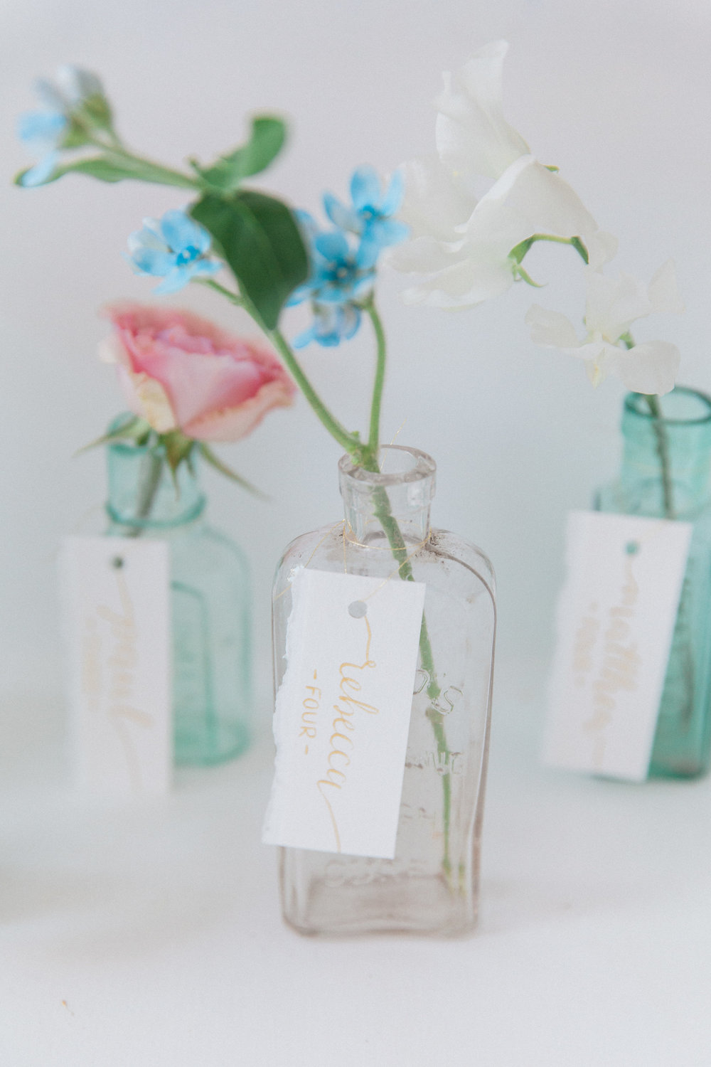 Vintage Amy Wedding Styling and Prop Hire-Vintage Luxe Wedding Reception-Vintage Medicine Bottle Table Plan
