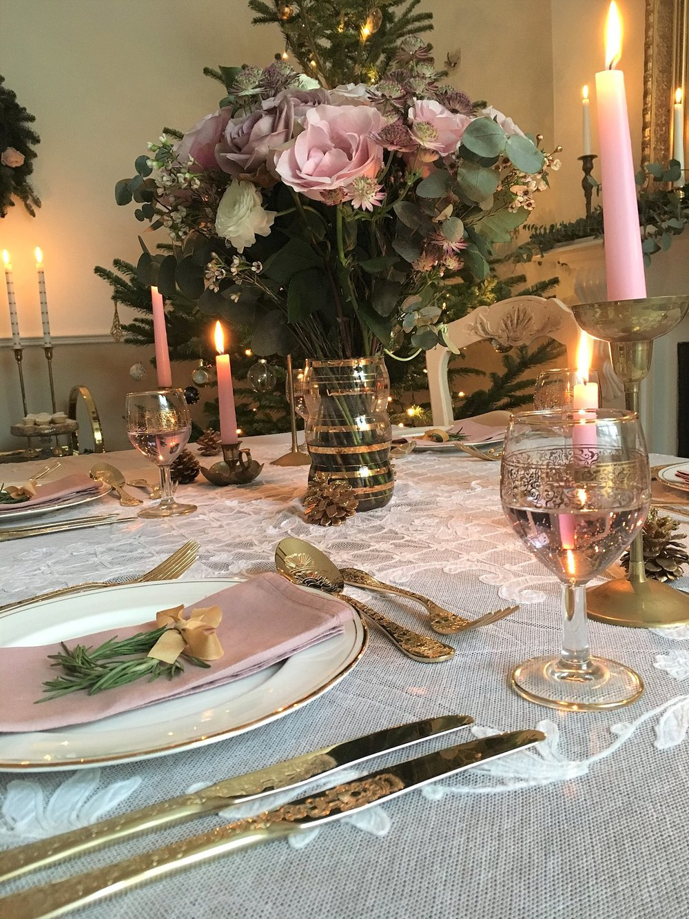 Vintage Amy Christmas Styling-Vintage Christmas-Wedding Styling South East England