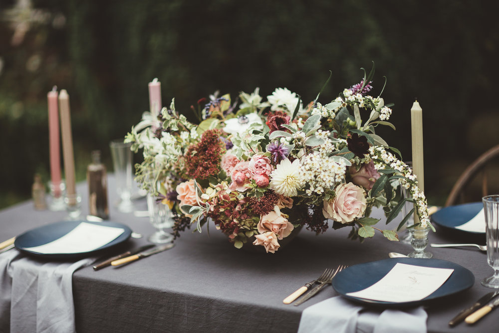 Vintage Amy Wedding Styling-Modern Vintage Rustic Luxe Wedding-Wedding Table Setting