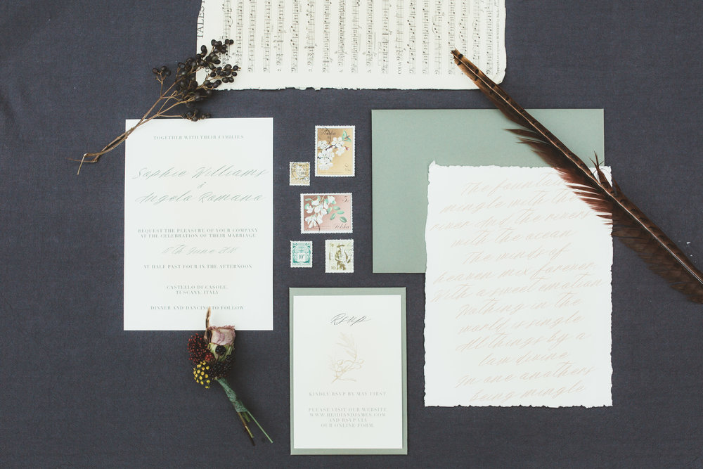 Vintage Amy Wedding Styling-Romantic Rustic Luxe Kent Wedding-Romantic Wedding Stationery