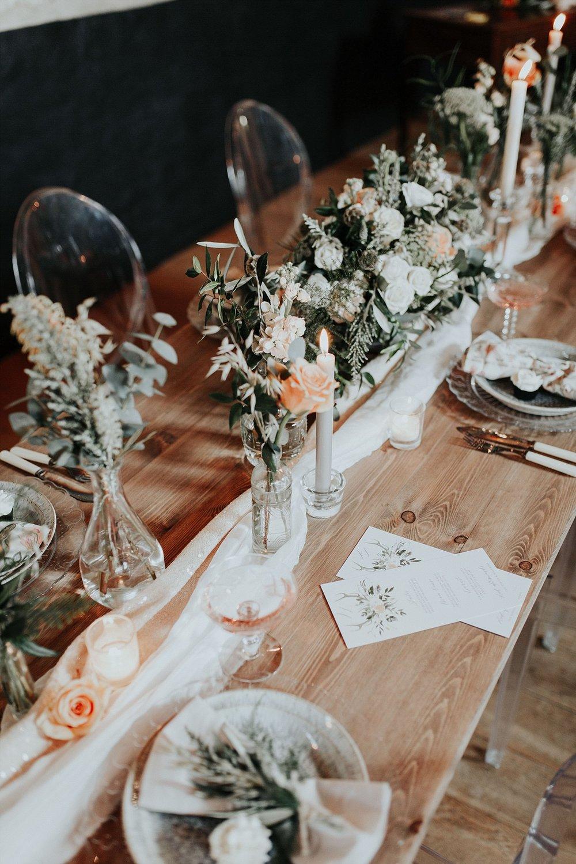 Wedding Stationery:  Wonderland Invites  | Styling:  Hall & Co  | Photography:  Leah Lombardi