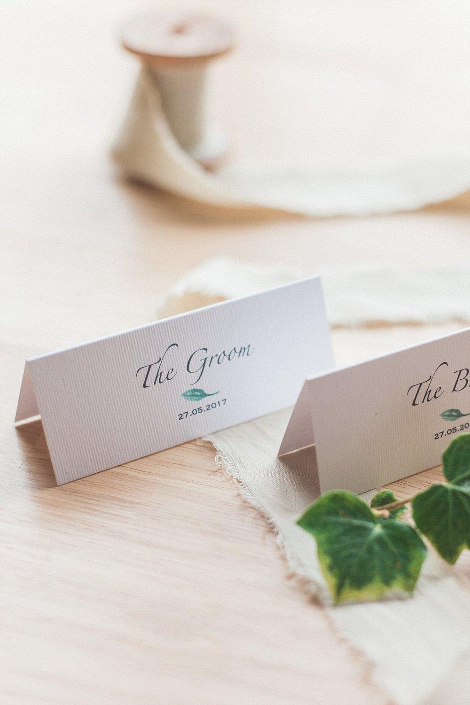 Wedding Stationery:  Sugar & Spice Designs  | Photography:  Maxeen Kim