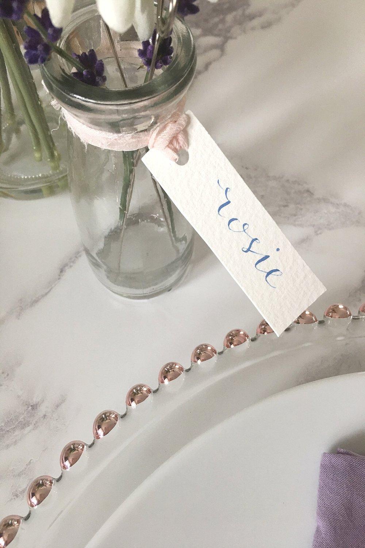 Wedding Stationery:  Sugar & Spice Designs