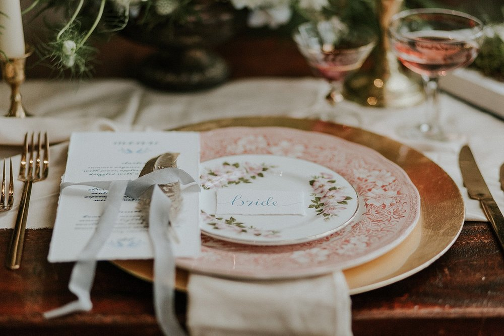 Wedding Stationery:  Sugar & Spice Designs  | Styling:  Twiggy Thistle  | Styling:  The White Emporium  | Photography:  Lola Rose