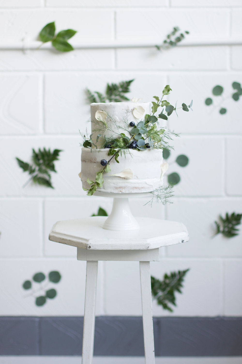 Photography:  Irena K  | Cake:  Milk Street Kitchen  | Flowers:  Petal and Wild  | Styling: Louise at  BLoved  | Stool: Me