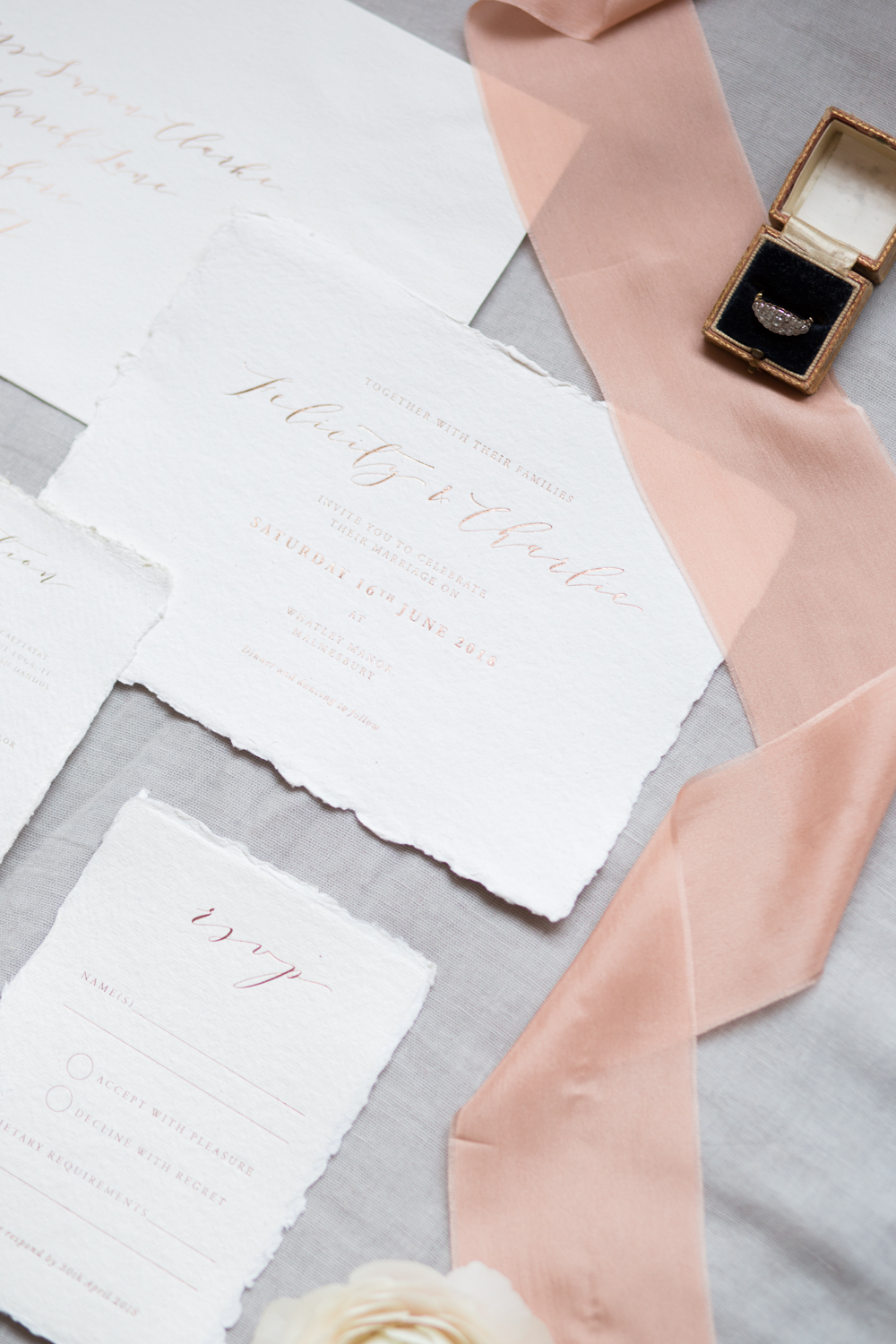 The Timeless Stylist - Beautiful Wedding Stationery Styling